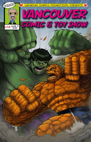 Hulk vs Thing Color