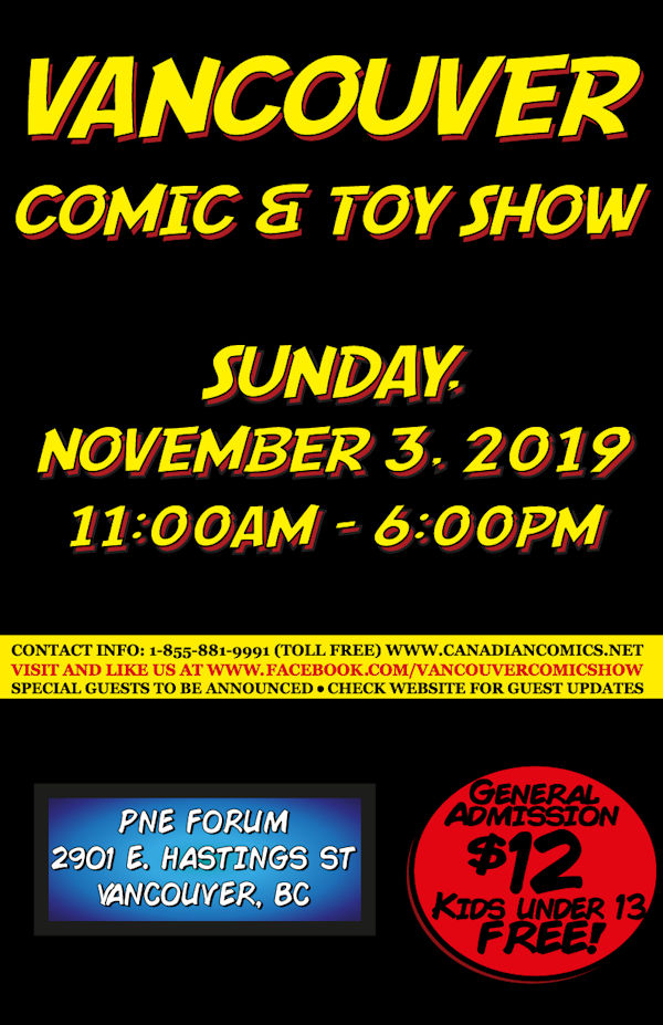 Vancouver Comic and Toy Show 17 Poster